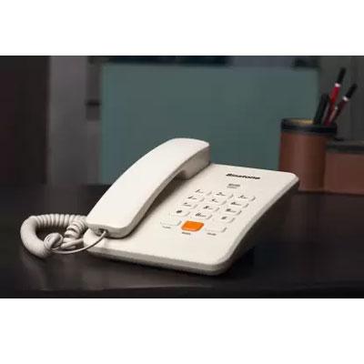Binatone Spirit 111N Corded Landline Phone (White)