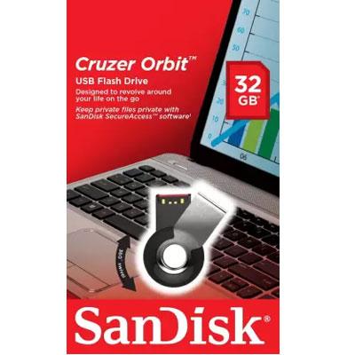 Sandisk 32GB Orbit Pendrive (Black)