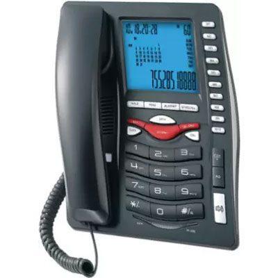 Beetel M75 Corded Landline Phone (Black)