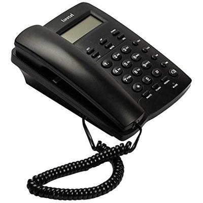 Beetel BT-M56 Corded Landline Phone (Black)
