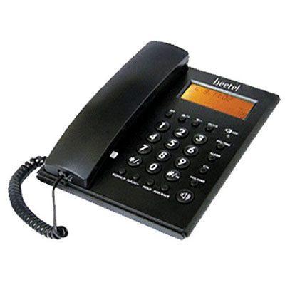 Beetel MG-BEETEL-M53 Corded Landline Phone (Black)