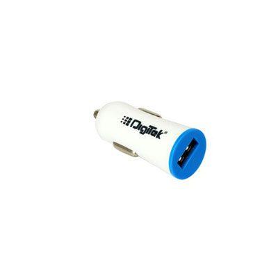 Digitek Mini USB Car Charger 1A DMC-008 for Smartphone, Tab + BIll + Warranty