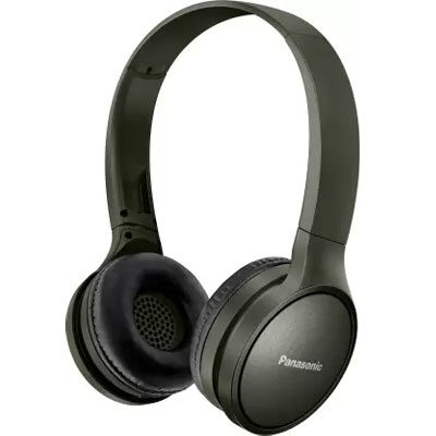 Panasonic RP-HF410BGCG Street Wireless Bluetooth Headphones (Green)