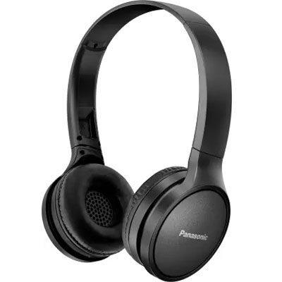 Panasonic RP-HF410BGCK Street Wireless Bluetooth Headphones (Black)