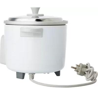 Panasonic SR-WA10 450-Watt Automatic Cooker Without Warmer (White)(Raw Capacity-0.6 kgs)