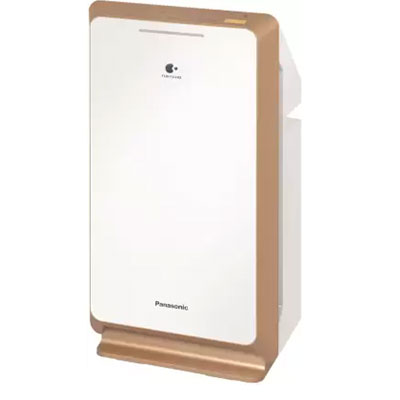 Panasonic F-PXM55AND Portable Room Air Purifier (White, GOLD)