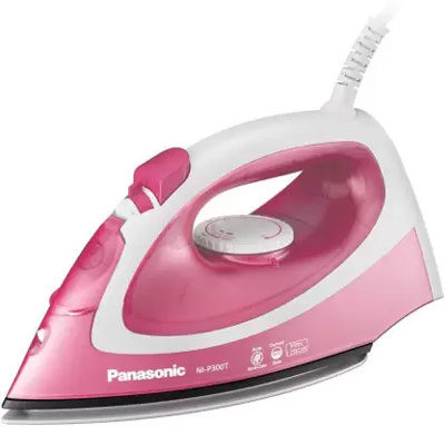 Panasonic NI-P300TRSM 1500 W Steam Iron (Pink and White)