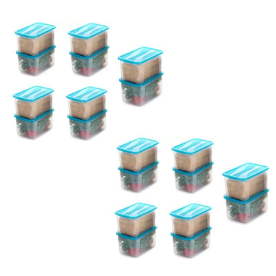 Solomon 7000ML BIG BRED Plastic Grocery Container PACK OF 20 (BLUE)