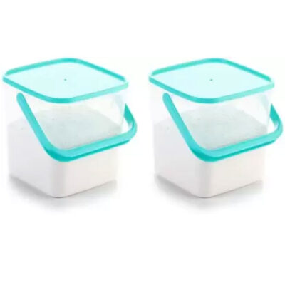 SOLOMON 5KG SQUARE CONTAINER BLUE PACK OF 2