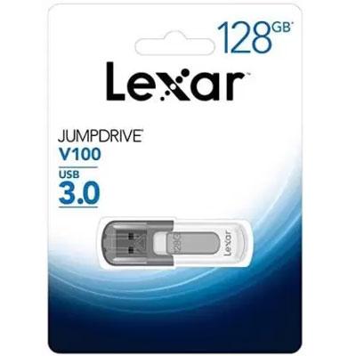 Lexar 128 GB JumpDrive V100 USB 3.0 Flash Drive