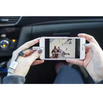 Lexar 64GB JumpDrive C25i flash drive for iPhone iPad - LJDC25i-64GBBNL