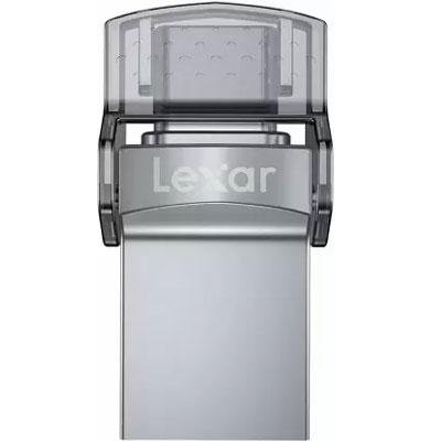 Lexar® 32GB JumpDrive® Dual Drive D35c USB 3.0 Type-C™