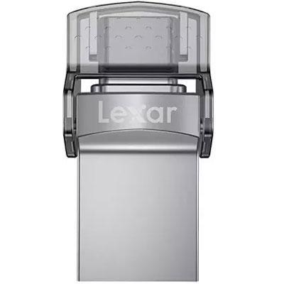 Lexar® 64GB JumpDrive® Dual Drive D35c USB 3.0