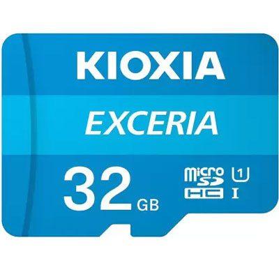 KIOXIA EXCERIA 32 GB MicroSDXC UHS Class 1 100 MB/s Memory Card