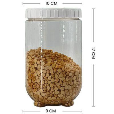 Solomon Interlock Container 1400 ml white