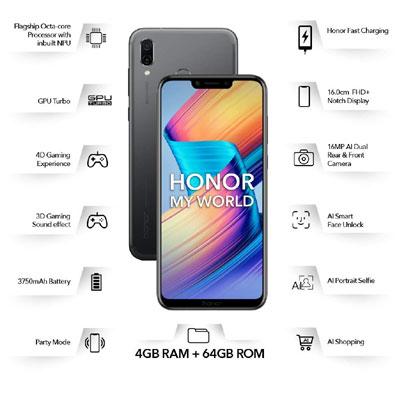 Honor Play (Midnight Black, 64 GB)