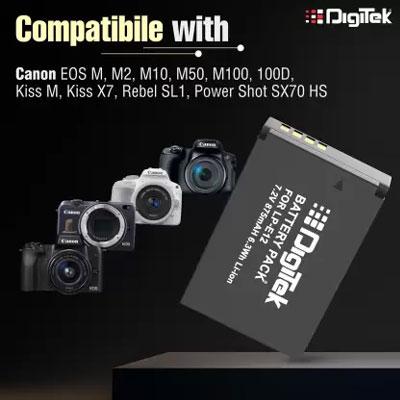 Digitek LP-E12 Battery