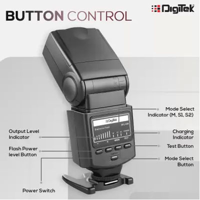 Digitek DFL-088 Flash (Black)