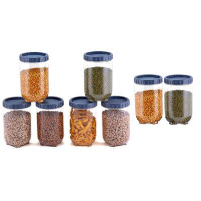 Solomon Interlock Container 1400 ml GREY Pack of 8