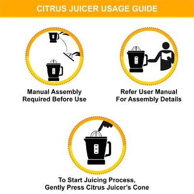 Philips Citrus Press HR2774 25 W Juicer