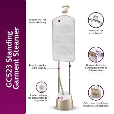Philips GC523/60 1600 W Garment Steamer