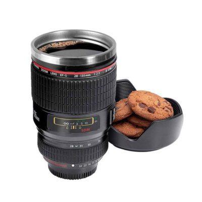 Solomon Camera Coffee Mug (Black)