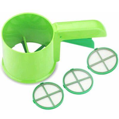 Flour (Atta) Sifter (Green)