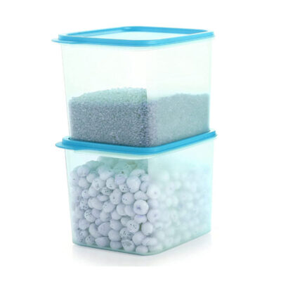 4KG SQUARE CONTAINER BLUE PACK OF 2