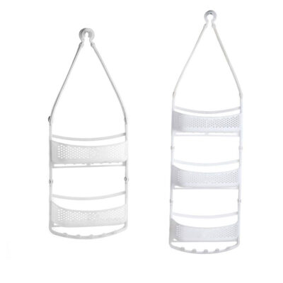 Shower Caddy Rack (layer 2 & 3) WHITE Pack of 2