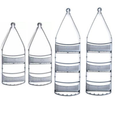Shower Caddy Rack (layer 2 & 3) GREY Pack of 4