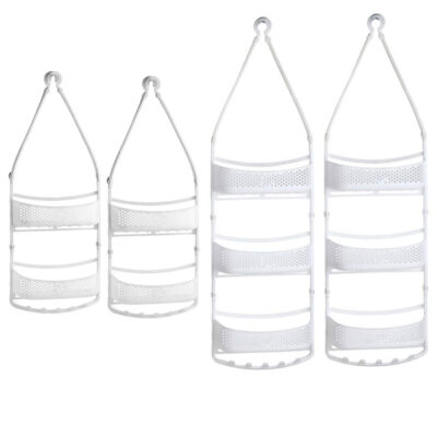 Shower Caddy Rack (layer 2 & 3) WHITE Pack of 4