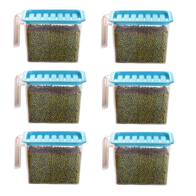 Handle Container 1100ml (BLUE) Pack of 6
