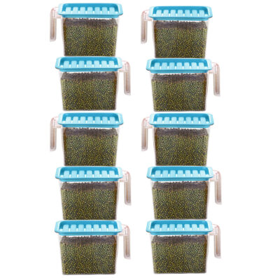 Handle Container 1100ml (BLUE) Pack of 10