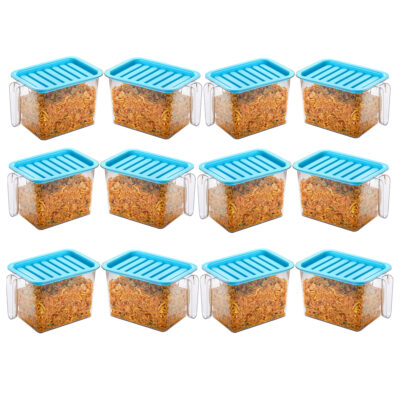 Handle Container 1100ml (BLUE) Pack of 12