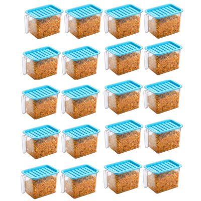 Handle Container 1100ml (BLUE) Pack of 20