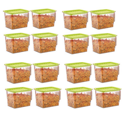 Handle Container 1100ml (GREEN) Pack of 16
