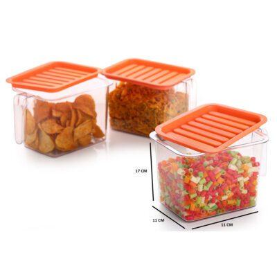 Handle Container 1100ml (ORANGE)