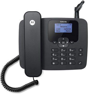 MOTOROLA FW210 Corded Landline Phone Black