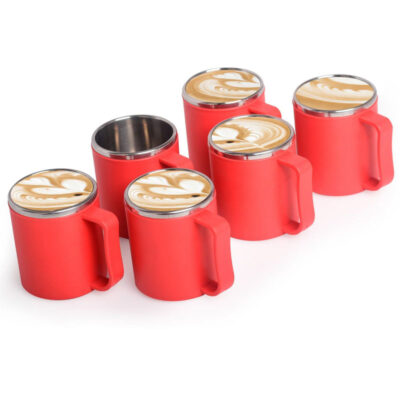 Solomon™ Stainless Steel Plastic Tea-Coffee Insulated Thermoware Mug