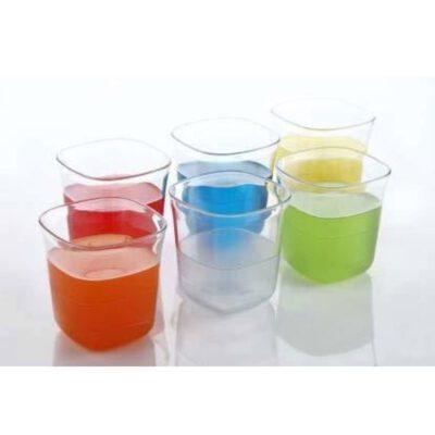 SOLOMON SUPREME GLASS PLASTIC 6PCS SET