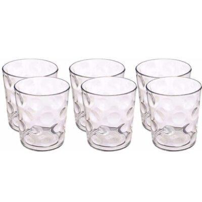 SOLOMON DRINKING GLASS PLASTIC 6PCS SET