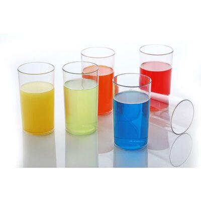 SOLOMON STINSON GLASS PLASTIC 6PCS SET