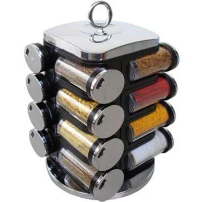 SILVER Spice rack 16pcs