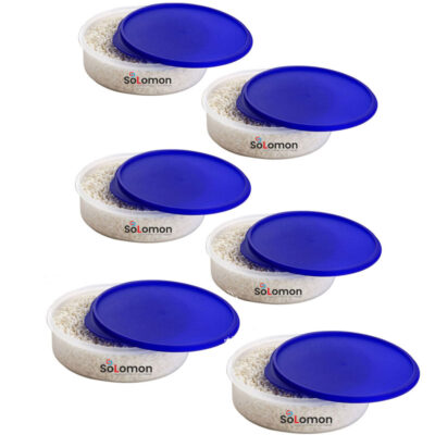 SOLOMON KHAKHRA BOX BLUE Pack of 6