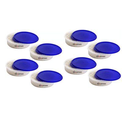 SOLOMON KHAKHRA BOX BLUE Pack of 8