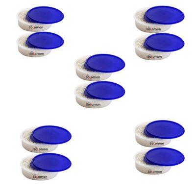 SOLOMON KHAKHRA BOX BLUE Pack of 10