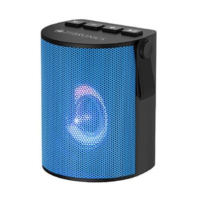 ZEBRONICS ZEB-BELLOW 3 W Bluetooth Speaker (Blue, Mono Channel)