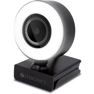 ZEBRONICS Zeb Ultimate Star Webcam (Black)