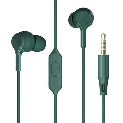 ZEBRONICS Zeb-BRO PRO in Ear Wired Stereo Earphones GREEN
