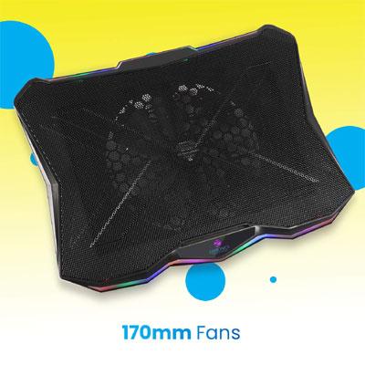 ZEBRONICS Zeb-NC7000 Cooling Pad